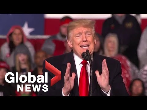President Trump holds MAGA rally in Ohio
