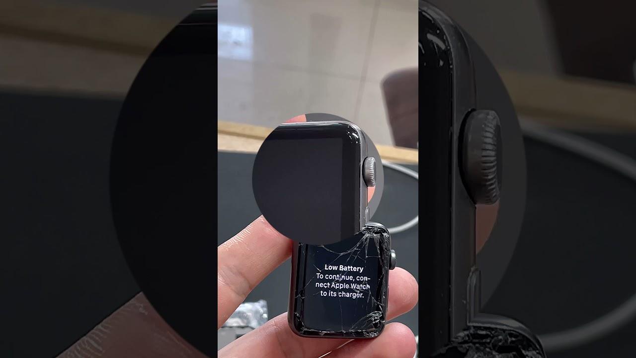 Замена сенсорного стекла Apple Watch 3/42
