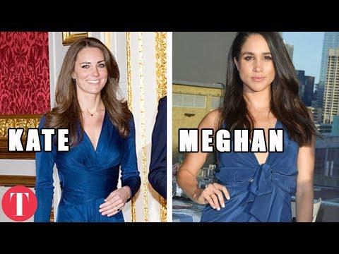 Download Youtube: 10 Times Meghan Markle COPIED Kate Middleton