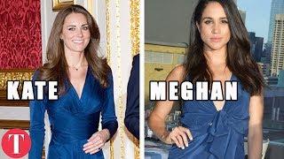 10 Times Meghan Markle COPIED Kate Middleton