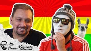 BOLÍVIA É O CONVIDADO DO ALÊ OLIVEIRA - ALÊ OLIVEIRA RESPONDE #24
