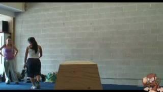 Toronto Parkour Girl Meet 2008 - Monkey Vault Parkour Training Centre