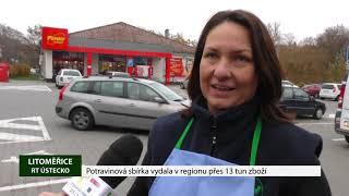 LITOMĚŘICE: Potravinová sbírka vydala v regionu přes 13 tun zboží