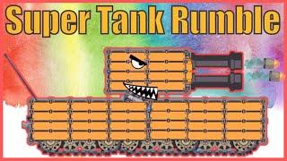 Game xe tăng - Chế tạo xe tăng Helldora siêu mạnh   Super tank rumble   Bạn xe tăng vui tính   Tanks