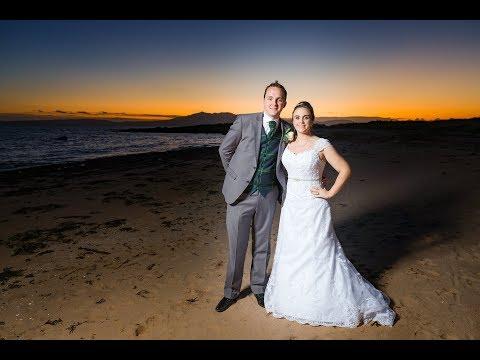 Deborah & Toms Weddingat the Waterside Hotel in West Kilbride