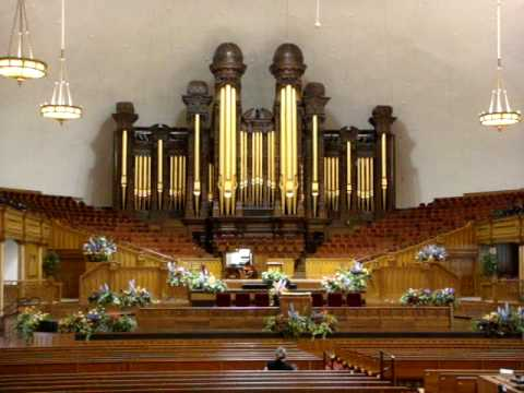 Salt Lake City, Utah, Mormon Church Organ, July, 2009