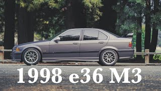 BMW e36 M3 Reveal - New Project Car
