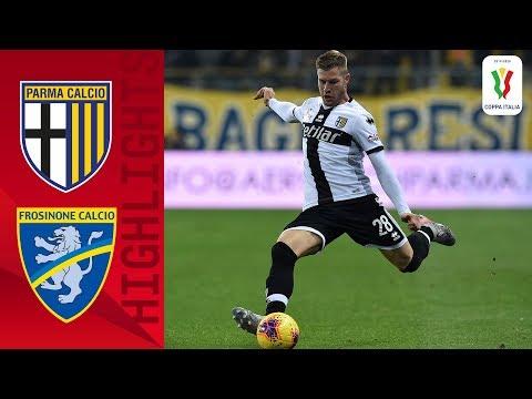 Parma 2-1 Frosinone | Late Penalty Sees Parma Edge Serie B Frosinone | Round 4 | Coppa Italia