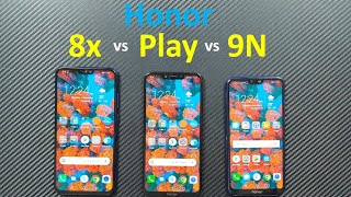 Honor 8x vs Honor Play vs Honor 9N - Best Honor Phone Under 18000 !