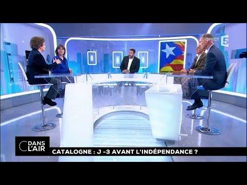 Catalogne : J-3 avant l'indépendance ? #cdanslair 07.10.2017