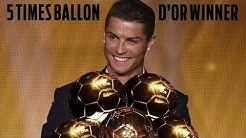 Cristiano Ronaldo | All Ballon d'Or Awards (2008, 2013, 2014, 2016, 2017)