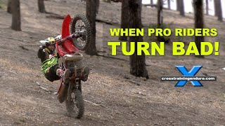 WHEN TOP ENDURO RIDERS TURN BAD! vlog #276