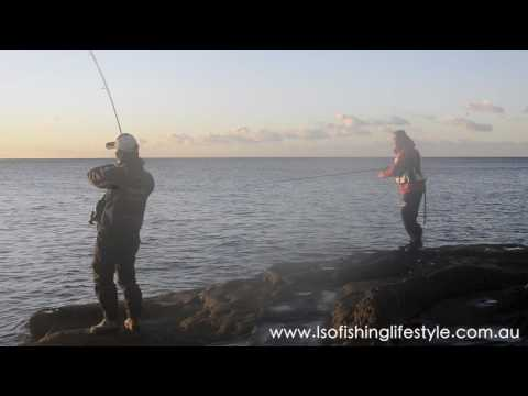 Shore Jigging TV: Shore Slow jigging in Sydney