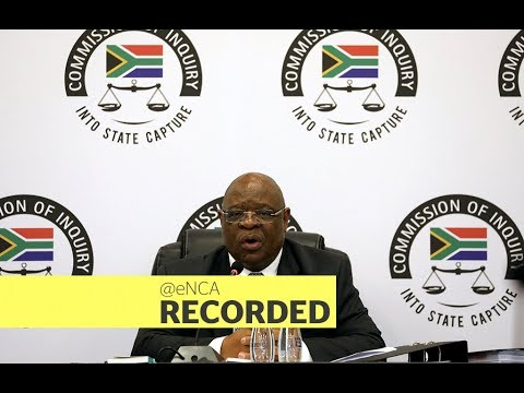 Minister Nhlanhla Nene testifies at the state capture inquiry