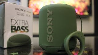 Sony SRS-XB10 Portable Bluetooth Speaker | Unboxing & Review