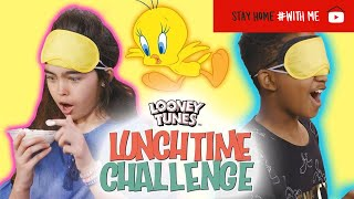 What's In The Birdcage? Challenge | Looney Tunes Lunchtime Challenge | WB Kids