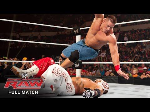 FULL MATCH - Rey Mysterio vs. John Cena – WWE Title Match: Raw, July 25, 2011