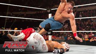 Download FULL MATCH - Rey Mysterio vs. John Cena – WWE Title Match: Raw, July 25, 2011