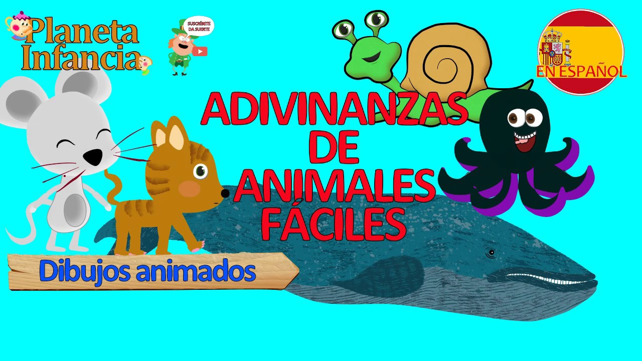Adivinanzas De Animales Faciles Adivinanzas Para Ninos Dibujos