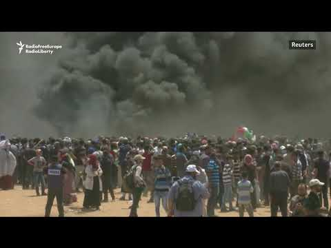 Dozens Killed In Gaza Protest As U.S. Embassy Opens In Jerusalem