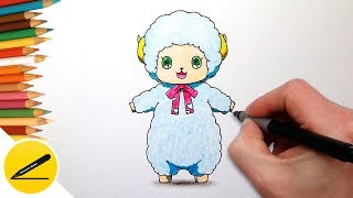 How to Draw Macaron from Amagi Brilliant Park ✿ Learn to Draw Manga Character