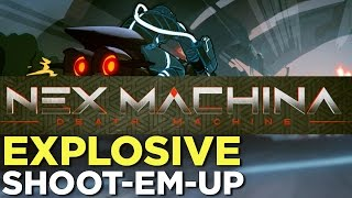 NEX MACHINA Gameplay: Housemarque's RESOGUN Follow-Up
