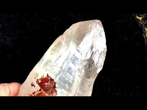 Himalayan Quart 喜馬拉雅水晶 西藏水晶 高頻水晶 彩虹光 收藏 冥想 靈修 擺陣 編號H-204 HD