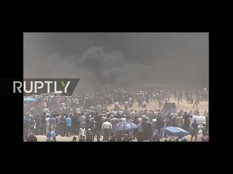 Live from Gaza Strip as March of Return protests continue