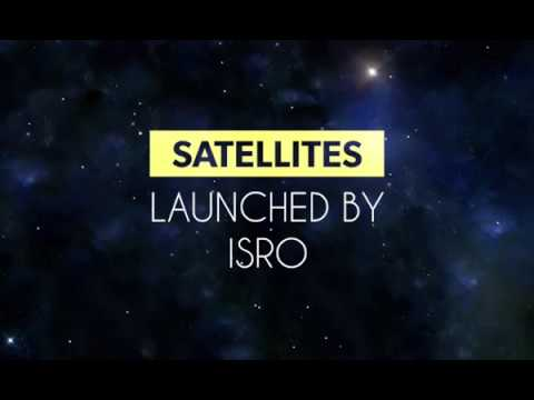 All Satellites launched by ISRO till 2017