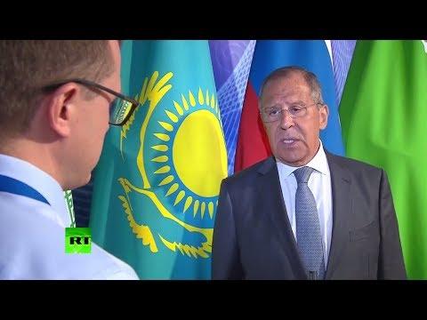 Лавров прокомментировал санкции США и вероятность очередной встречи Путина с Трампом