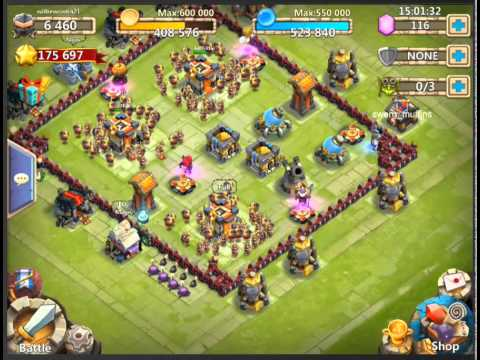 Castle Clash Upgrade Guide - What To Upgrade First