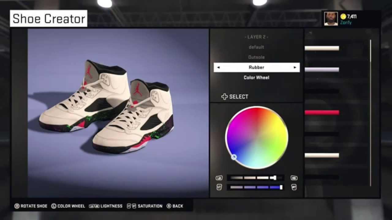 725ffe963c2f NBA 2K15 Shoe Creator - Air Jordan 5