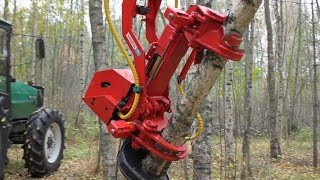 Repeat youtube video Naarva S23 stroke harvester & firewood processor - S23-sykeharvesteri