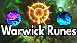Warwick Runes Season 10