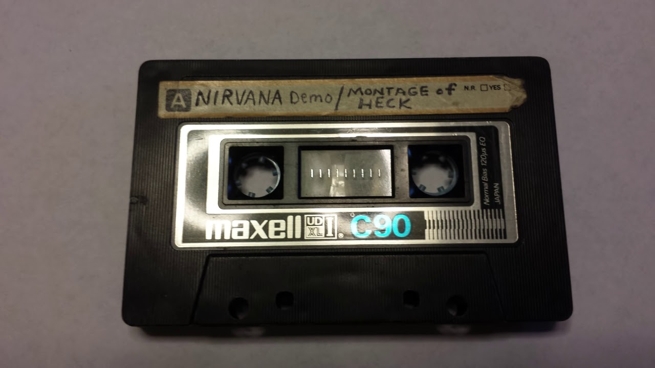 Four extremely rare Nirvana demo tapes have emerged