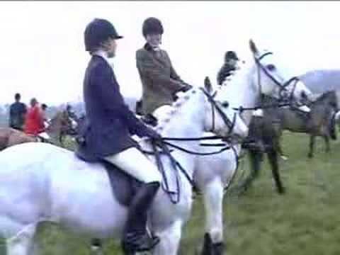 pytchley hunt boxing day meet 2012