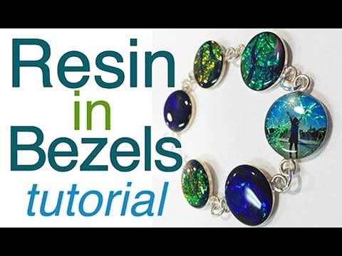 Resin in Bezels - complete tutorial by little-windows.com