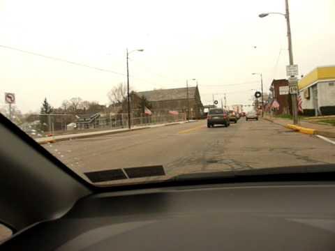Driving through Dormont Pennsylvania Pittsburgh