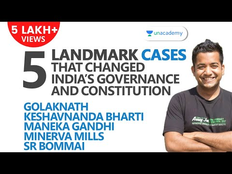 5 Landmark Cases That Changed India
