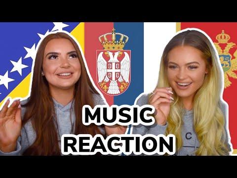 BALKAN MUSIC REACTION | Jala Brat, Buba Corelli, Senidah, Rasta, Maya Berovic, Elena Kitic,Mc Stojan