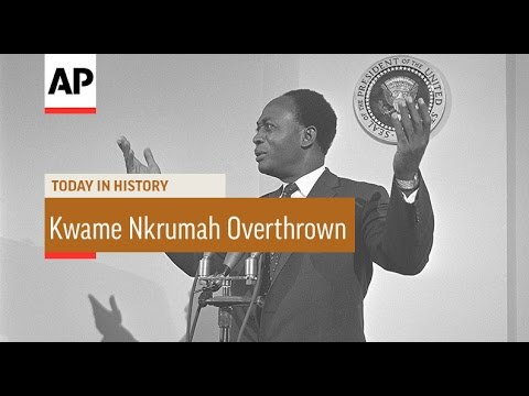 Kwame Nkrumah Overthrown - 1966 | Today In History | 24 Feb 17