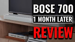 Bose Soundbar 700 | One Month Later [Truth Exposed]