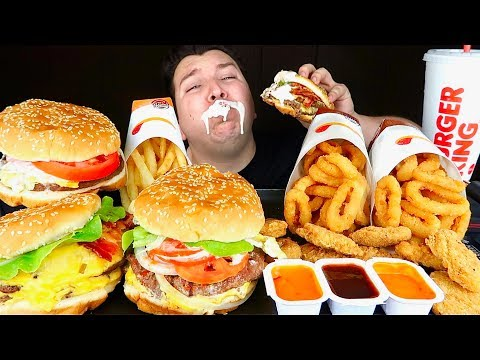 Trying Burger King's New Impossible Burger • MUKBANG