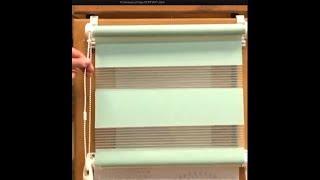 Рулонные шторы Компакт День-ночь. Обзор. Как замерить окно. Расчет