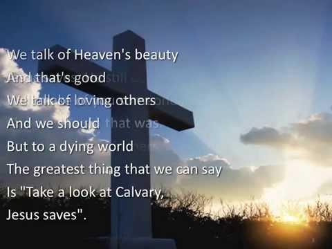 Jesus Saves ~ Gaither Homecoming ~ lyric video