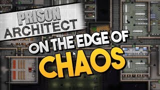 Prison Architect - RIOTS IMMINENT ★ Tazers, Food variety, Food quality, Suppression - #10