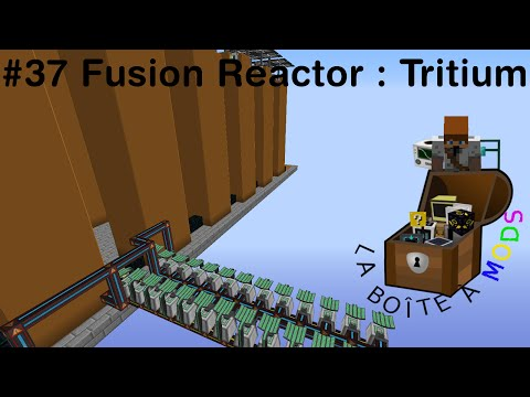 Mekanism : Fusion Reactor #1 : Tritum - Minecraft La Boîte à Mods Ep 37 - Minecraft modpack FTB fr