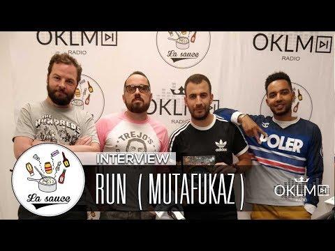 RUN ( Réalisateur de MUTAFUKAZ  avec ORELSAN & GRINGE) - #LaSauce sur OKLM Radio