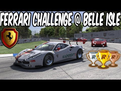 iRacing Ferrari 488 GT3 Challenge at Belle Isle