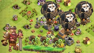 Clash of Clans - Defenceless Base Now TH8
